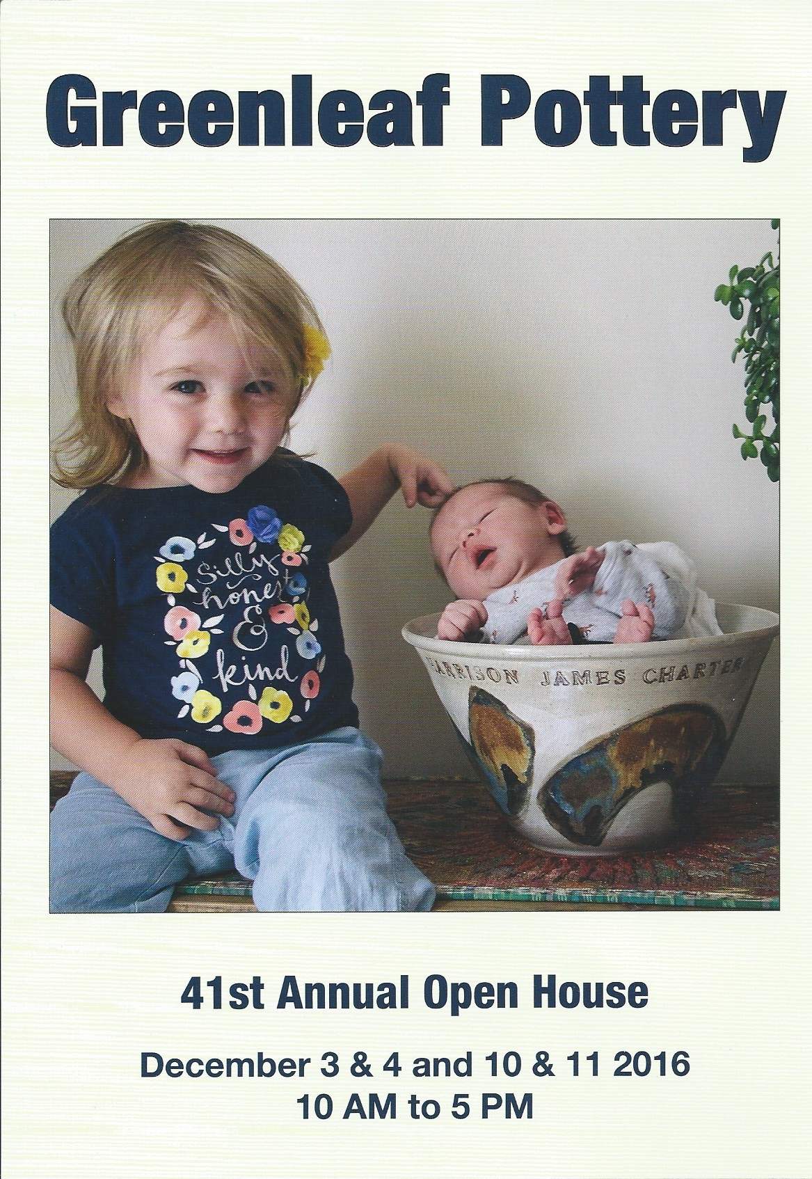 2016 Open House Invitation - Front